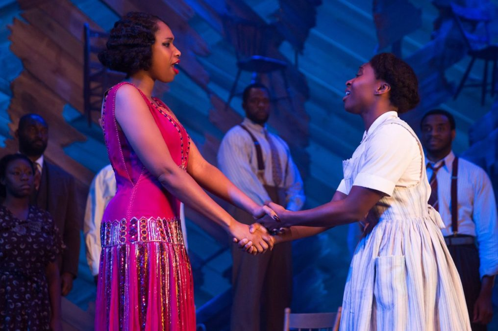 PS -  Cynthia Erivo and Jennifer Hudson in THE COLOR PURPLE photo by Matthew Murphy 2015
