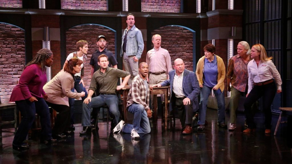 WI - The cast of Come From Away on Seth Meyers - 5/17 - Lloyd Bishop/NBC