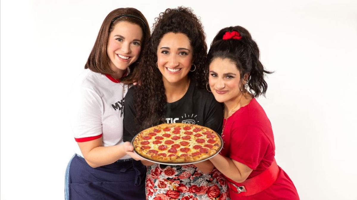 Kyra Kennedy - Krystina Alabado - Gianna Yanelli in Mystic Pizza at Ogunquit Playhouse -8/21 - Jeremy Daniel