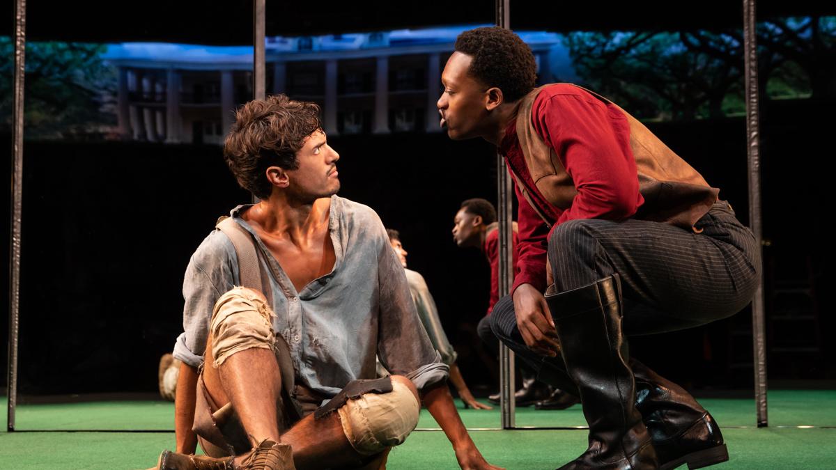 Show Photos - Slave Play - 9/19 - James Cusati-Moyer - Ato Blankson-Wood - Photo: Matthew Murphy